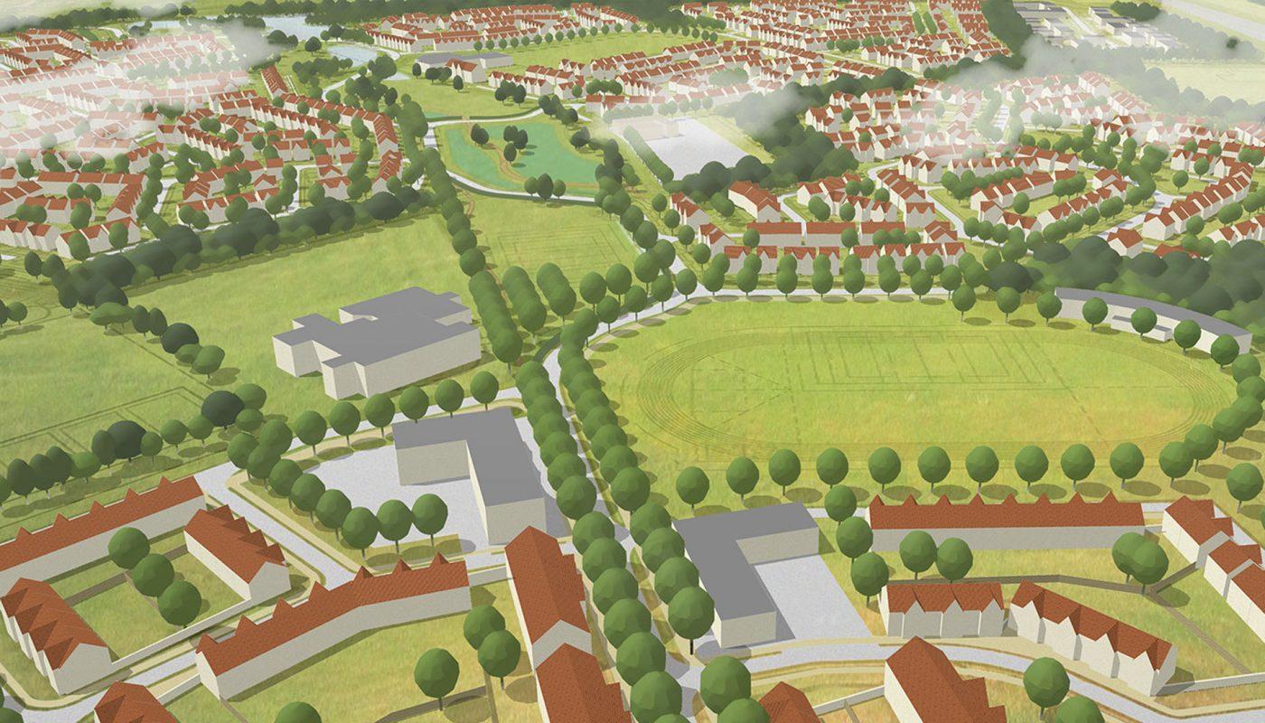 Cambourne west visualisation