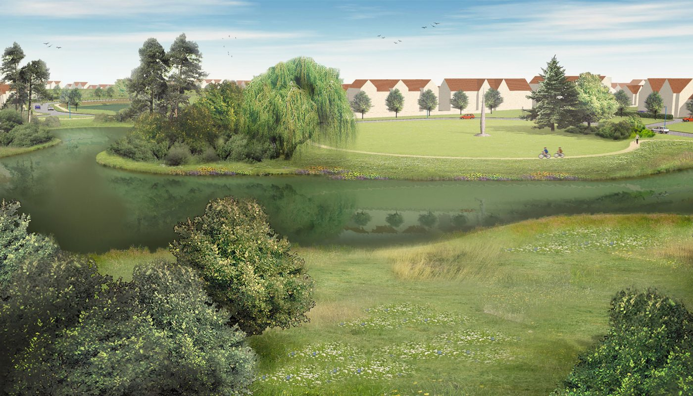 Cambourne west visualisation