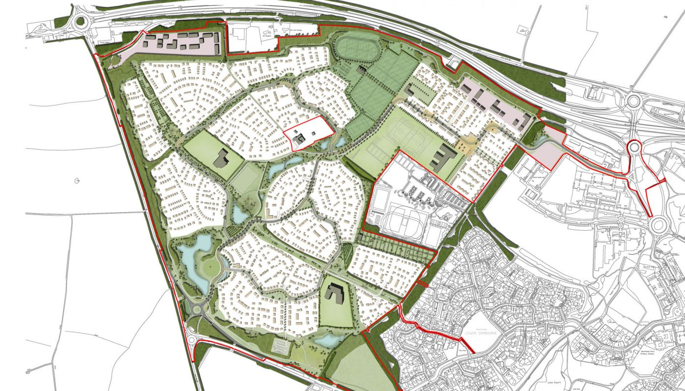 Cambourne West masterplan