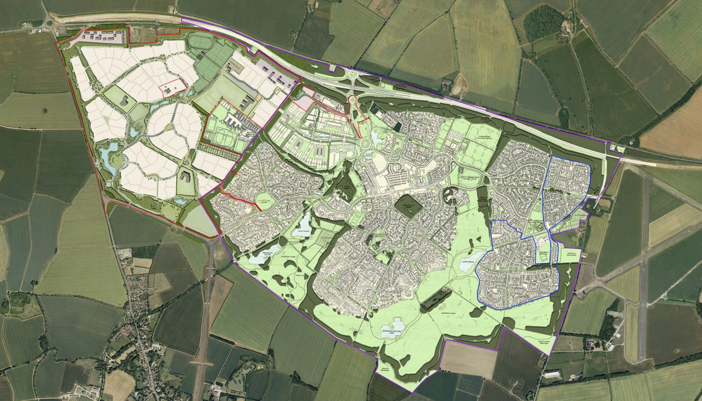 Cambourne/Cambourne West masterplan
