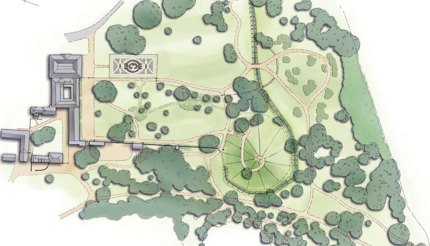 Lytham Hall masterplan