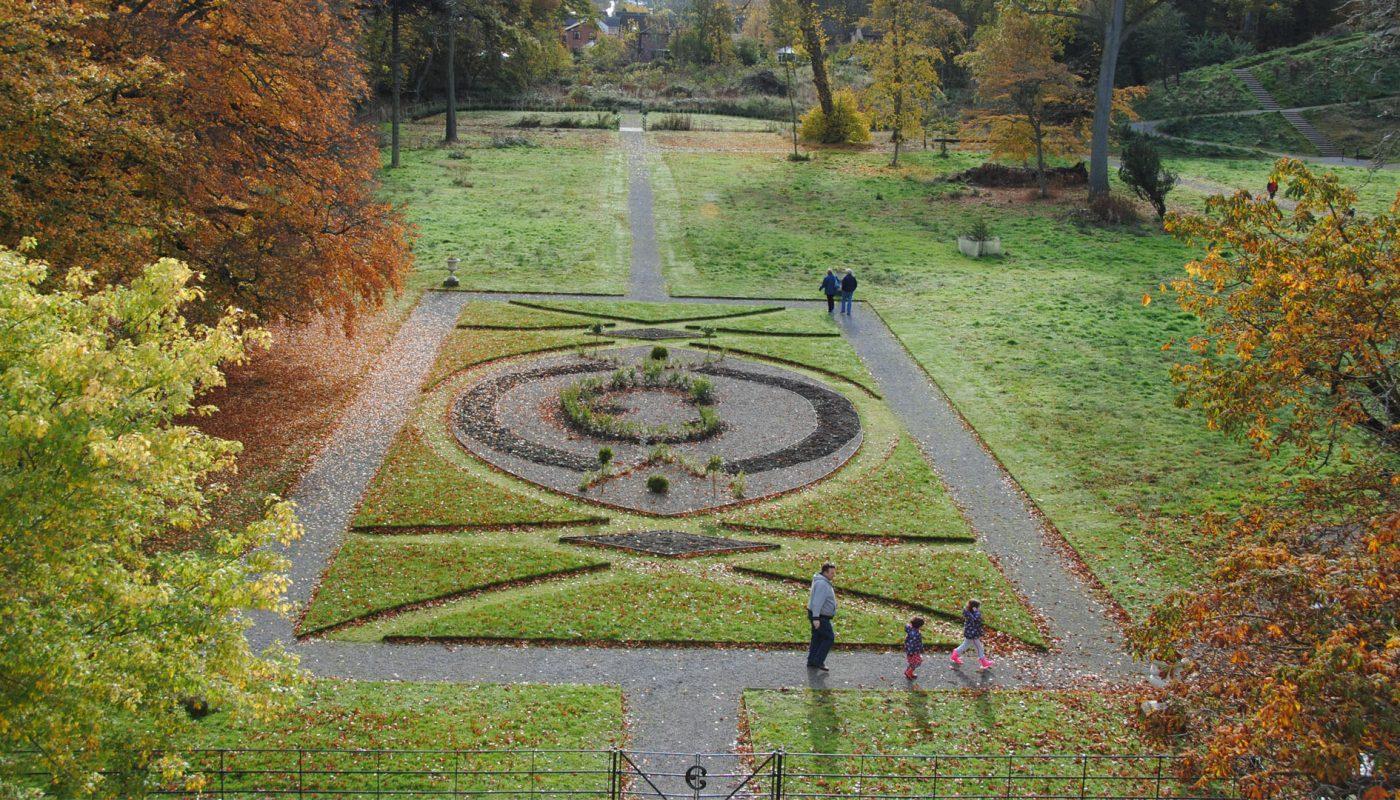 Lytham Hall italian garden