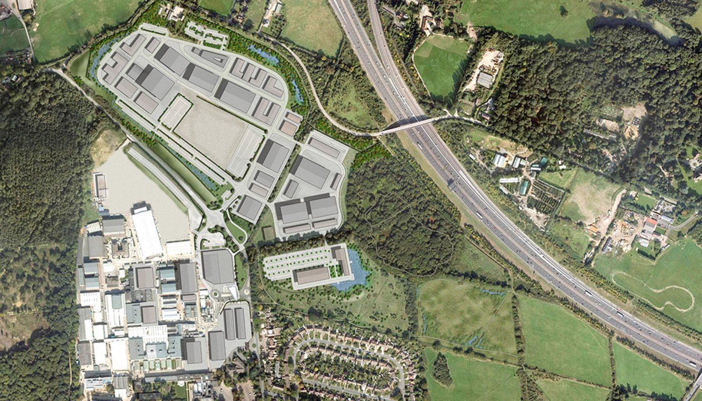 Pinewood masterplan