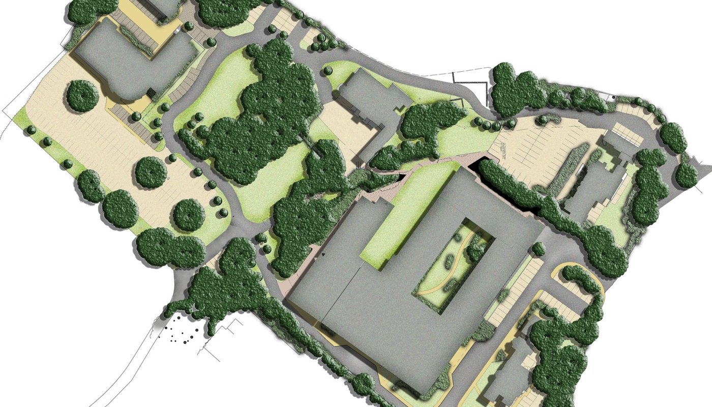 Priory hospital masterplan