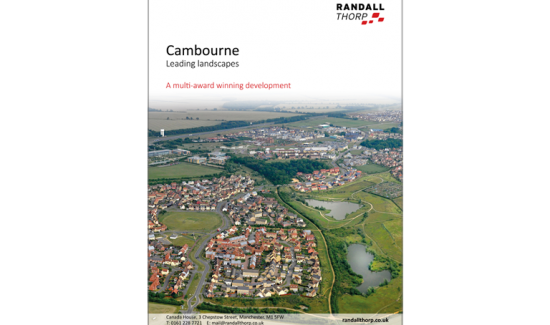 Cambourne: Leadng Landscapes brochure